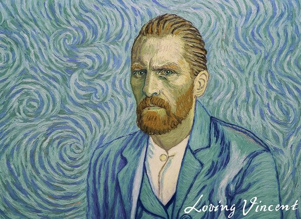 With A Handshake - Your Loving Vincent Art Print by Anna Kluza